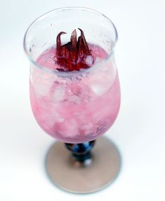 Heartbreaker Rose Syrup Tequila Cocktail or Mocktail for a Valentine's Day treat