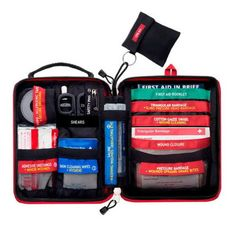 #Emergency first aid kit survival gear #medical trauma kit surgical #suture kit r,  View more on the LINK: 	http://www.zeppy.io/product/gb/2/262464167129/