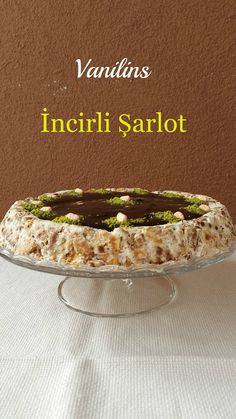 İncirli Şarlot – sağlıklı yemekler – The Most Practical and Easy Recipes Small Desserts, Köstliche Desserts, Great Desserts, Delicious Desserts, Yummy Food, Summer Trifle, Pasta Cake, Tolle Desserts, Pastry Cook
