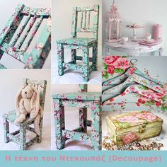 Take an old, rusty and weathered table of coffee and make it into something beautiful with it. The Decoupage allows not only for that, but also allows you to release the imagination and inner arti… Chabby Chic, Old Book Pages, Children's Picture Books, Romantic Dates, Decoupage, Important Dates, Some Ideas, Something Beautiful, Decorative Boxes