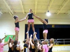 Superman Cheer Stunt :) - YouTube