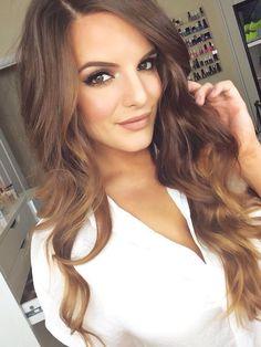 Golden light brown #hair.