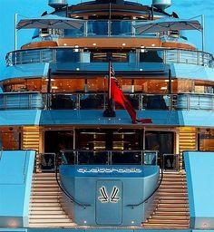 Such a beautiful ship... Quattroelle superyacht