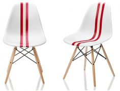 TWIN SEATER- limited edition of the famous Eames molded chair.