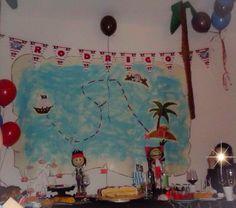 Festa de aniversário tema pirata Jake