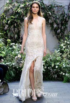 Monique Lhuillier Wedding Dresses - Spring 2017 - Bridal Fashion Week | Brides
