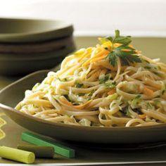 Zucchini Pasta Recipe from Taste of Home.