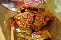 We will also have twix bars you can put ontop of your ice cream because twix bars! I mean who doesn't love them?