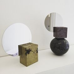 More mirrors by #pettersenhein on display at #etageprojectsshop! #art #artanddesign #kunstogdesign #design #mirror