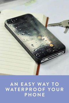 An Easy Way to Waterproof Your Phone So You Can Run in the Rain. There's nothing worse than getting your phone soaked when you're out on the run. If you don't own an expensive case, don't worry about it, use this trick instead.