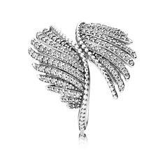 Majestic Feathers, Clear CZ