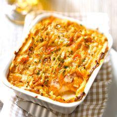 gratin recette patate douce