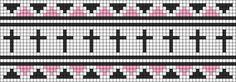 Alpha Friendship Bracelet Pattern #12218