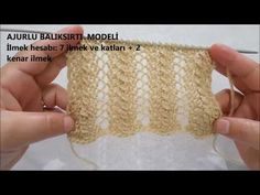 Aquarium Fishnet Model for Ladies' Yachts. Knitting Stiches, Lace Knitting, Baby Knitting Patterns, Stitch Patterns, Crochet Baby, Knit Crochet, Crochet Videos, 30, Arm Warmers