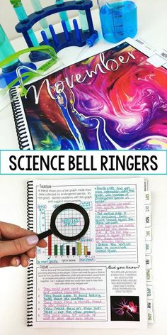 Science bell ringer journal for the entire school year including 275 journal prompts for middle and high school students. This product provides teachers with an entire school year of science-themed journal prompts in an organized and focused way. The jour Science Classroom, Teaching Science, Science Education, Science Activities, Physical Science, Teaching Ideas, Science Experiments, Science Ideas, Career Exploration