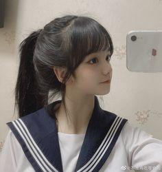 Ulzzang Korean Girl, Anime Girl Cute, Aesthetic Girl, Cute Girls, Asian Girl, Hair Makeup, Avatar, Natural Beauty, Model