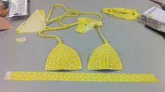 Yellow Polka Dot Bikini Grand Finale - Life of a Fairy Bra Mother