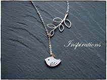 Love Bird - Halskette Silber