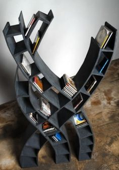 Pretty cool CD case or kids bookshelf.