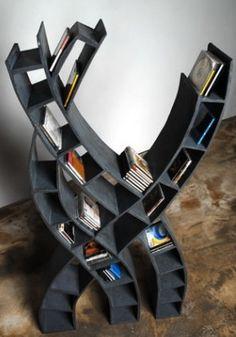 Pretty cool CD case or kids bookshelf.