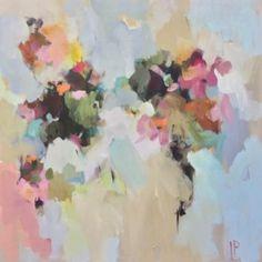 """""""Butterfly Garden"""" 36×36 on gallery wrap"""