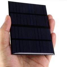 유니버설 12 볼트 1.5 와트 표준 에폭시 태양 전지 패널 미니 태양 전지 다결정 실리콘 DIY 배터리 전원 충전 모듈 115x85 미리메터