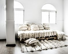 Zoco Home - Ethnic Scandinavian Decor - Handira Wedding Blanket | designlibrary.com.au