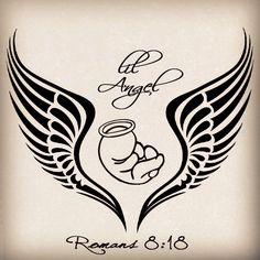 Baby Angels In Heaven Tattoo