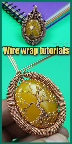 Wire wrapped tree of life tutorial PDF. Wire Wrapped jewelry tutorials. Wire Wrap tutorial Step by step. DIY Pendant Tree of Life. The book has 160 pages, more than 300 high-resolution photos. After studying the lessons you can independently make four pendants Tree of Life. I use copper wire in my tutorial. And this does not necessarily mean that you should use copper wire. Use any wire. Wire Weaving Tutorial, Wire Wrapped Necklace, Tree Of Life, Copper Wire, Stone Pendants, Metal Working, Wire Wrapping, The Book, Crochet Earrings