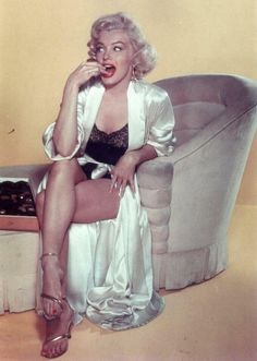 Marilyn and chocolates…
