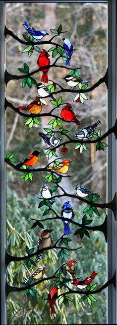 bird branches from Chippeway Art Glass (love the name)