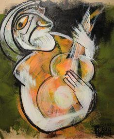 """""""Rock&Roll"""" Johannes Fuska Rock And Roll, Painting, Art, Kunst, Art Background, Rock Roll, Painting Art, Rock N Roll, Paintings"""
