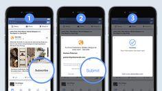 Lead Ads - Rechtliche FAQ, u.a. zur Datenschutzerklärung und Double-Opt-In - allfacebook.de