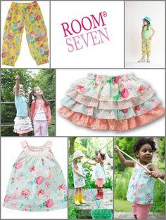 Room Seven heeft altijd een romantische sfeer, door het gebruik van mooie zachte kleuren en bloemprinten.