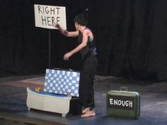 Beth Nixon of Ramshackle Enterprises performs a clown show/ strip-tease. Boundless was a collaborative work of epic theater performed at The Summer St. Epic Theatre, Theatre Shows, Theater, Clown Show, Pittsburgh Pa, Warehouse, Shoulder Bag, Summer, Theatres
