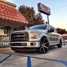 "Car Dealerships In Tyler Tx >> F150 On 24 Inch Rims | 2002 Ford F150 SuperCrew Cab ""Blue ..."