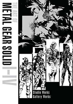 Dark Horse releasing The Art of Metal Gear Solid I-IV stateside
