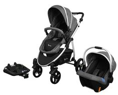 Opalgo 3 in 1 Travel System with ISOFIX Base - BABY STYLE