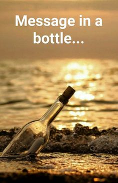 Message in The a Bottle Black N White, Black And White Pictures, Image Nature, Message In A Bottle, Pics Art, Bokeh, Belle Photo, Black And White Photography, Surfing