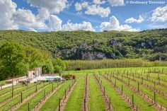Drinking wine with a view of Saint-Cirq-Lapopie >> http://ordinarytraveler.com/articles/saint-cirq-lapopie-the-most-beautiful-village-in-france