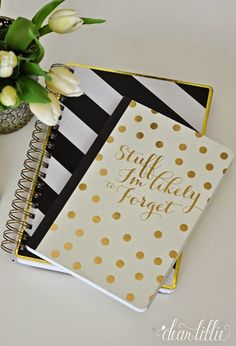 Love this cute little notebook from @homegoods Now if I can just actually remember to write in it. =) (sponsored pin)