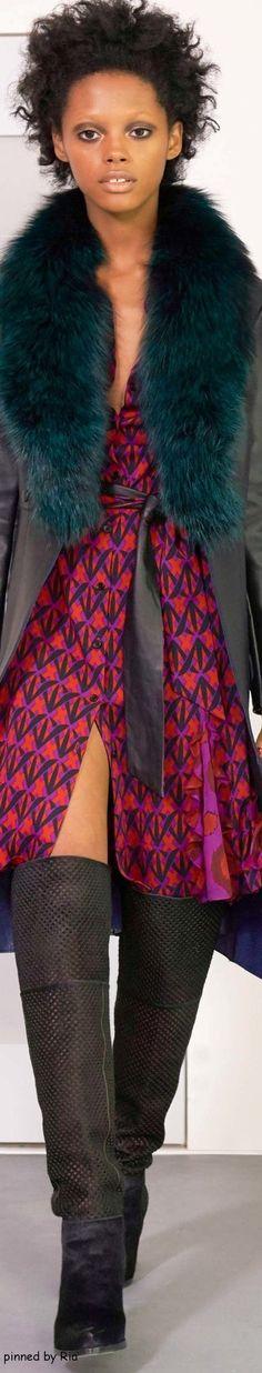 Diane Von Furstenberg Fall 2016 RTW l Ria