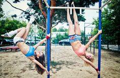 #girls #streetworkout #streetfitness #sexy
