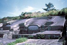 Yonshanskaya .Kitay lajas. Megalitos y castillos japoneses con mampostería poligonal.   Muy similar a los megalitos peruanos cerca...