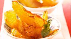 Crispy Fried Caramel Apple Wedges