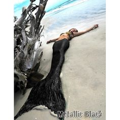 Actual mermaid tail from themertailor.com. I really want one of these...
