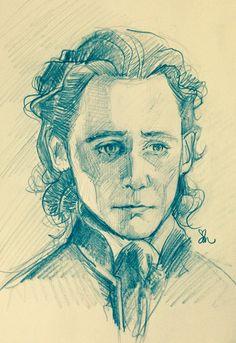 Sir Thomas Sharpe. Artwork by artgroves.tumblr