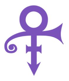 Prince Symbol - High Quality Precision-Cut Vinyl Decal / Sticker X Purple) Purple Love, All Things Purple, Shades Of Purple, Purple Stuff, Deep Purple, Prince Purple Rain, Prince Tattoos, Prince Party, Paisley Park
