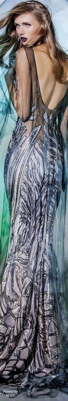 Blanka Matragi Couture''Elements:Aqua'' 2017 Collection