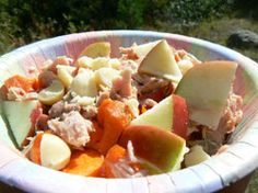 3/5 I like it but it's a unique combo - Tuna Apple Salad - Entrees -  - paleo diet, #paleo, recipe, nutrition, robb wolf, scott hagnas, weight lifting, strength, conditioning, fitness, greg everett - Catalyst Athletics Recipes